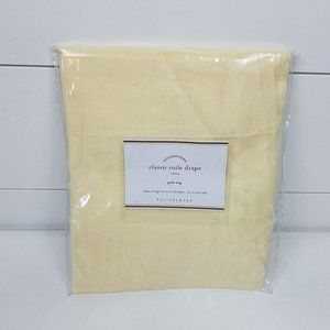 Pottery Barn Classic Voile Rod Pocket Sheer Curtai